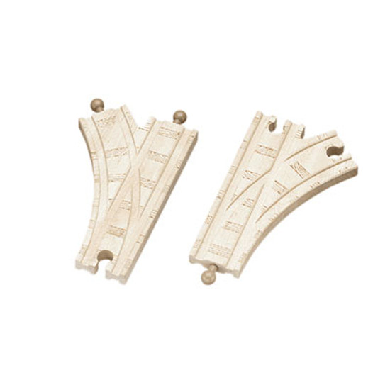 "Tomy International Track - 6.5"" Single Curved Switch Track - 2 pieces"