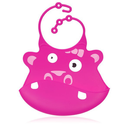 Ulubulu Baby Bib - Gertrude Hippo Product