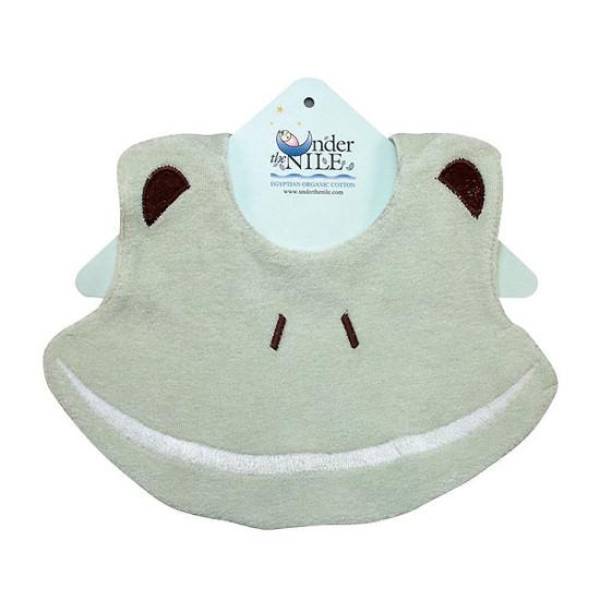 Under The Nile Bear Bib - Frog Product