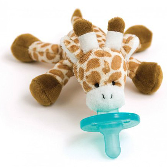 WubbaNub Plush Pacifier - Baby Giraffe
