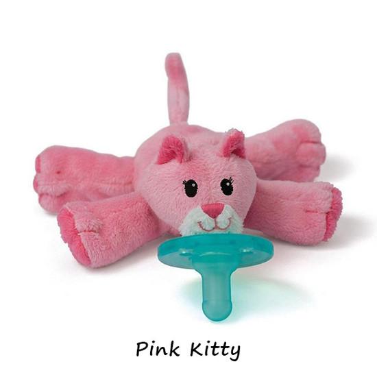 WubbaNub Plush Pacifier - Pink Kitty