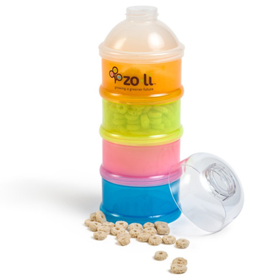 Zoli Inc. On-the-go travel formula & snack dispenser