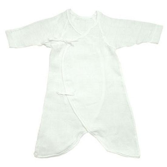 i play. Gauzie Wrap Gown - White