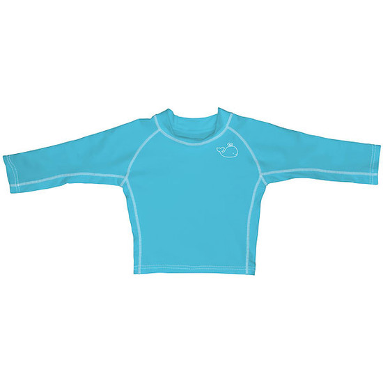 i play. Long Sleeve Rashguard - Aqua-3