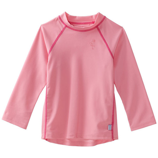 i play. Long Sleeve Rashguard - Light Pink-1