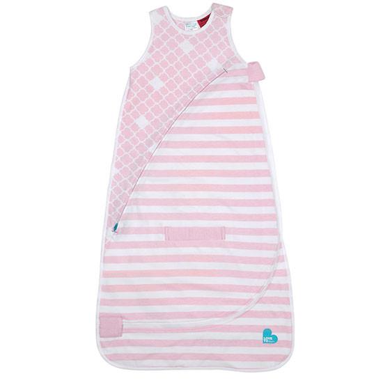Love to Dream Inventa 1.0 TOG Sleep Bag - Light Pink-1