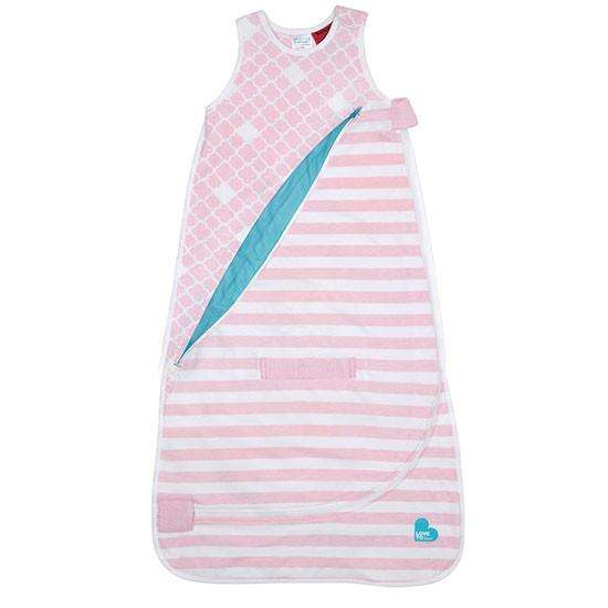 Love to Dream Inventa Sleep Bag - Light Pink-2