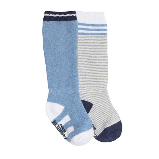 Robeez Cool Blue Baby Socks 2 Pack Product