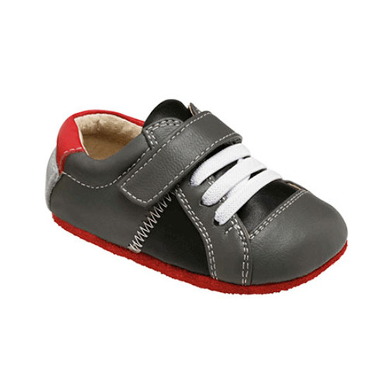 See Kai Run Smaller Julian - Gray / Black-1