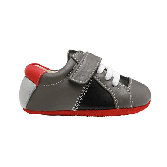 See Kai Run Smaller Julian - Gray / Black-2