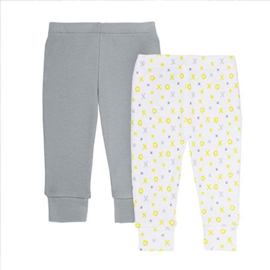 Skip Hop 2 Piece Pants Set - Grey ABC 123-1