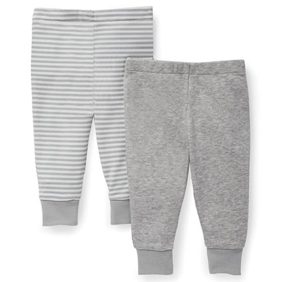 Skip Hop Boho Feathers Baby Pants Set - Grey-1