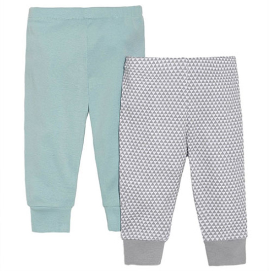 Skip Hop Petite Triangles Baby Pants Set - Blue-1
