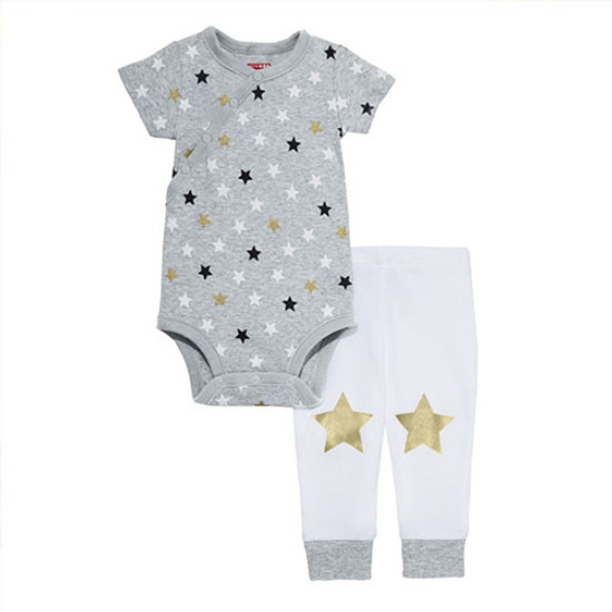 Skip Hop Star Struck Short Sleeve Bodysuit & Pant Set-1