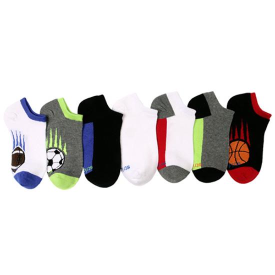STRIDE RITE Davis Sports Blocks No Show Socks - 7 Pack Product