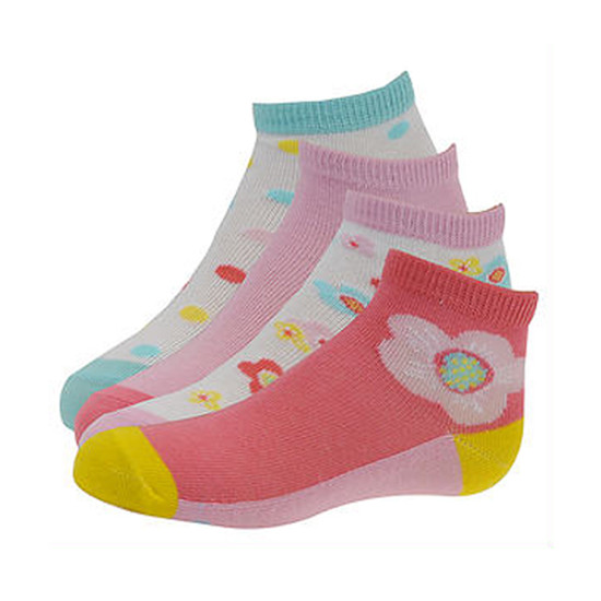 STRIDE RITE Norah Quarter Socks - 4 Pack-1