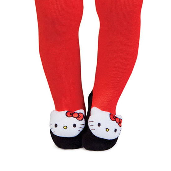 Trumpette Hello Kitty (12-18 Months) Rattle Baby Tights-1