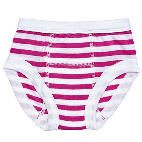 Under The Nile Training Pants - Fuchsia/White Stripe-1