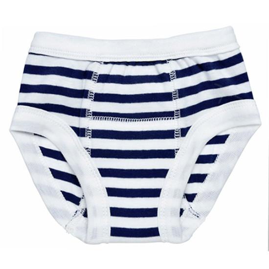 Under The Nile Training Pants - Navy/White Stripe Product