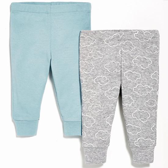 Skip Hop 2 Piece Baby Pants Set - Blue-1