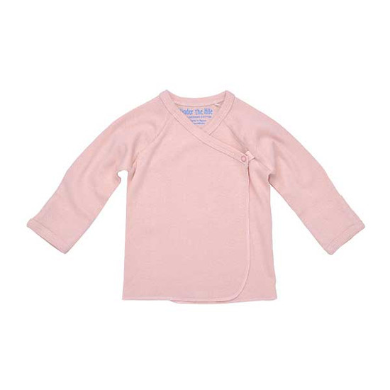 Under The Nile Long Sleeve Side Snap T-Shirt - Blush-1