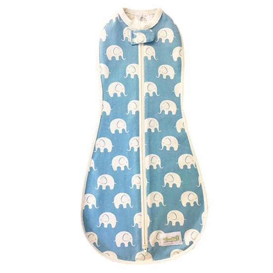 Woombie Original Woombie Big Baby - Blue Splash Elephant 14-19 lbs-1