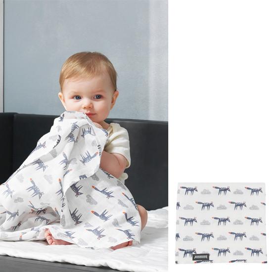 Innobaby Dono&Dono Light Muslin Cuddle Blanket - Little Zoro-3