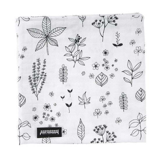 Innobaby Dono&Dono Light Muslin Cuddle Blanket - Holly Garden
