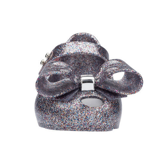 Mini Melissa Ultragirl Bow III - Multicolor Glitter are the perfect shoes for any occasion!