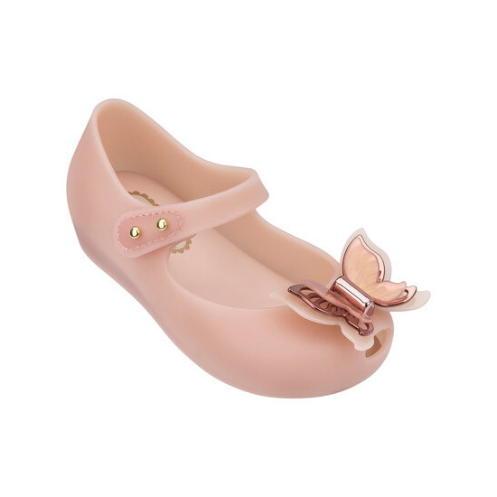 Mini Melissa Ultragirl Fly - Light Pink with Free Shipping!