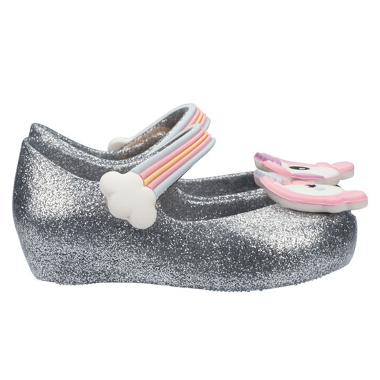 Mini Melissa Ultragirl Unicorn - Silver available at kidslandusa.com