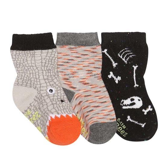 Robeez Dino Dan Baby Socks - 3 Pack