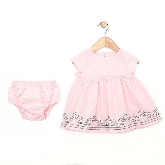 Robeez Pink Dress with Diaper Cover