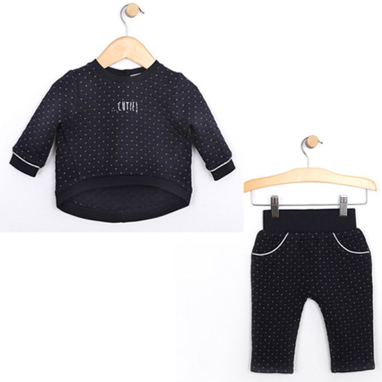 Robeez Quilted Pullover + Pants Set - Cutie Product
