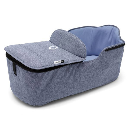 Bugaboo Fox Bassinet Tailored Fabric Set  Blue Melange