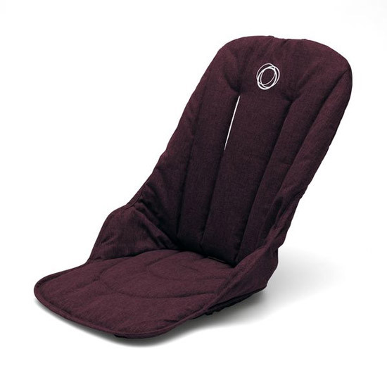 Bugaboo Fox Seat Fabric - Red Melange
