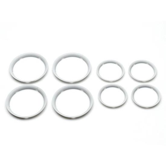 Bugaboo Fox Wheel Caps - White