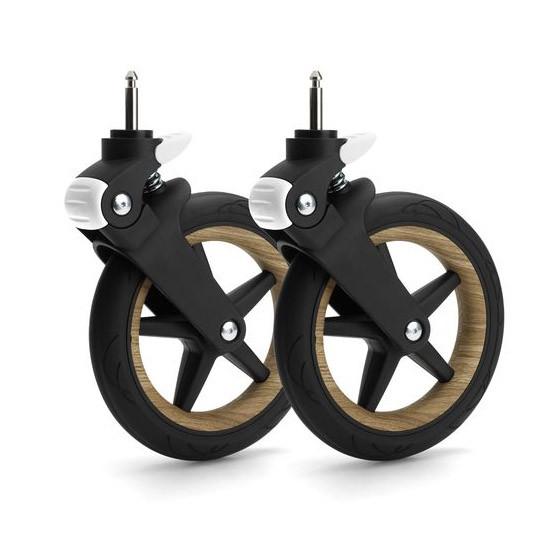 Bugaboo Fox Wheel Caps - Wood-2
