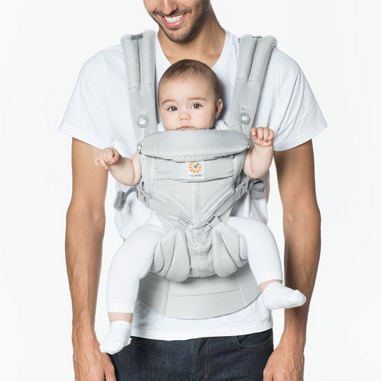 Ergo Baby Omni 360 Cool Air Mesh Baby Carrier - Pearl Grey-2