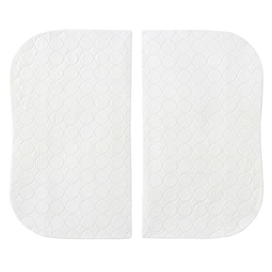 Halo Bassinest Twin Sleeper Waterproof Mattress Pads - 2-Pack