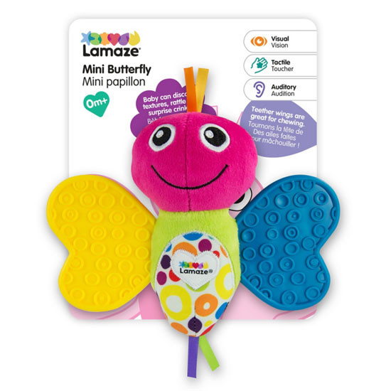 Lamaze Mini Teether Butterfly-2