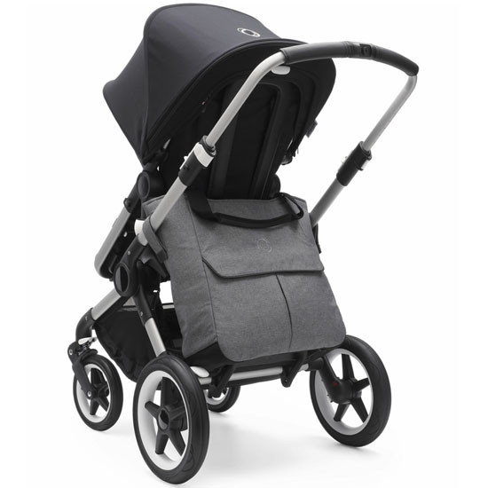 Bugaboo Mammoth Bag - Grey Melange_thumb1_thumb2
