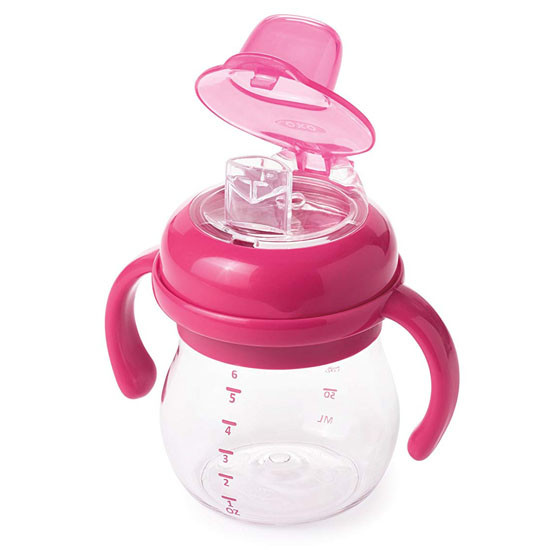 OXO Transitions Soft Spout Sippy Cup with Removable Handles - Pink_thumb4