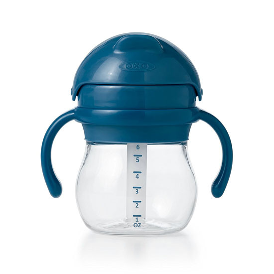 OXO Tot Transitions Straw Cup with Handles 6 oz - Navy-3