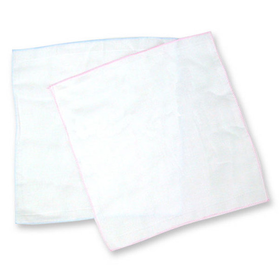 Bradcal Baby Gauze Handkerchief 10pk - Blue