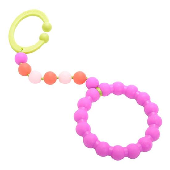 Chewbeads Gramercy Stroller Toy - Pink-1