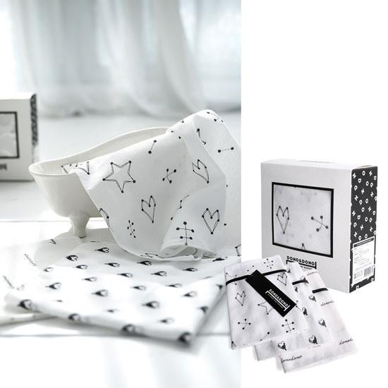 Innobaby Dono&Dono Mini Muslin Squares 10 Pack - Jupiter-2
