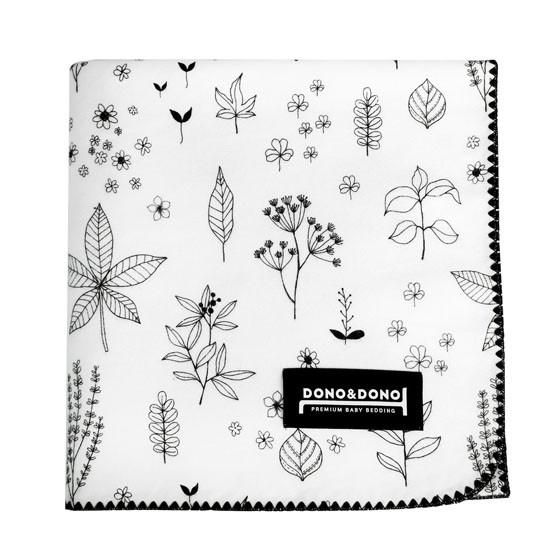 Innobaby Dono&Dono Multi-Purpose Cotton Cuddle Blanket - Holly Garden-1