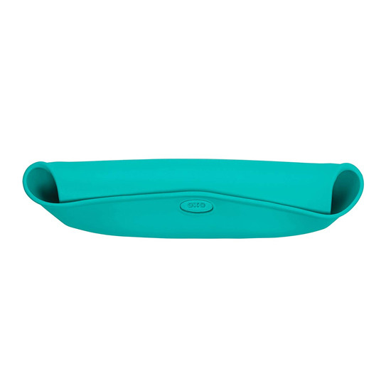OXO Roll-Up Bib - Teal-2
