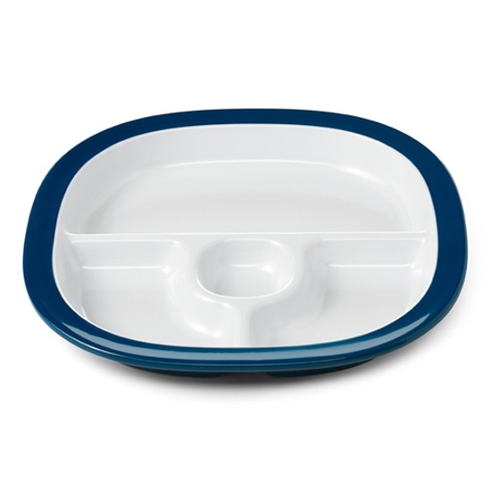 OXO Melamine Divided Plate - Navy Product